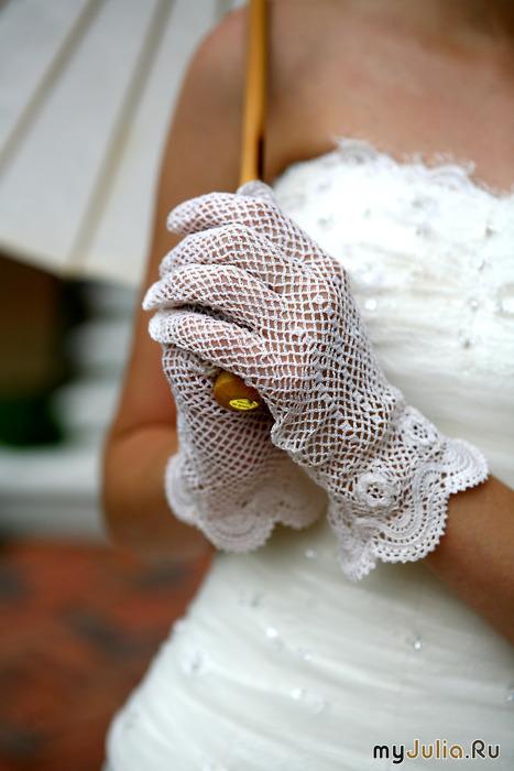 о свадебных перчатках
