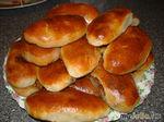 Пирожки с сухофруктами и повидлом
