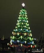 Новогодняя ночная Москва