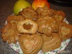 Яблочные маффины с вареной сгущенкой