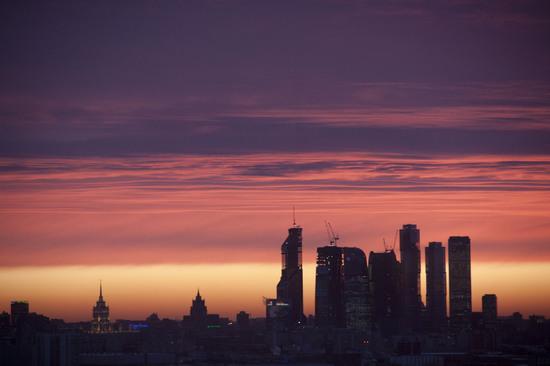 Moscow International Business Center. Декабрь 2011