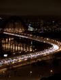 Живописный мост. Вечерняя пробка.