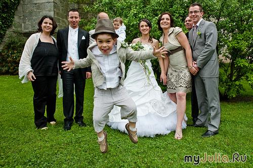 Конкурс на детей на свадьбе