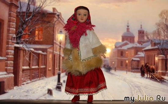 Москвичка зимой