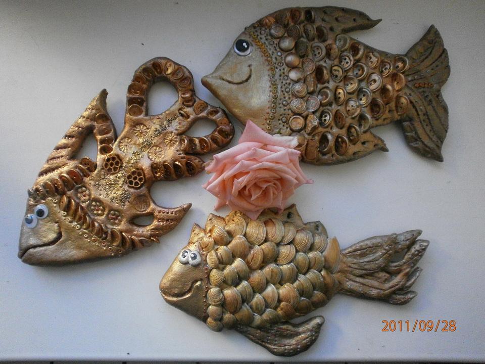 Рыбки из соленого теста своими руками пошаговая инструкция фото 75
