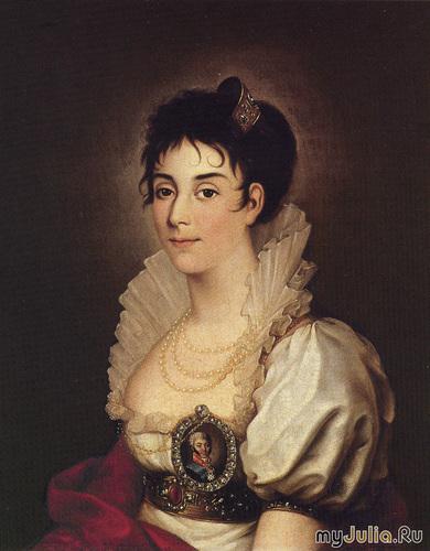 Прасковья Жемчугова. Певица, актриса, жена графа Николая Шереметева.