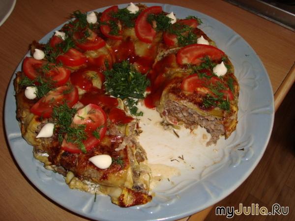 Блюдо из лесных грибов рецепт с фото