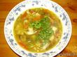 Овощной суп с шампиньонами.Импровизация на восточный мотив.