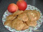 Печенье овсяное с яблоком и орехами