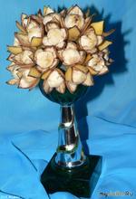 Цветы из бананов. Мастер-класс