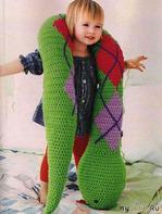 """Подушка-игрушка """"Змея"""""""