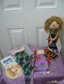 Подарки от Лили (JELLY77) (слева) и Оли - (Helga1)