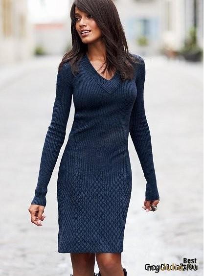повседневное платье на осень 2013 фото