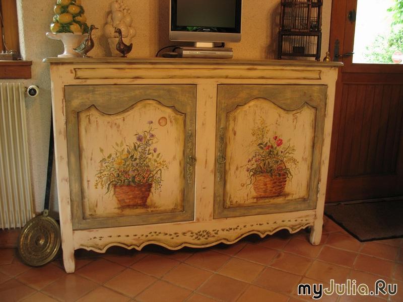Старая мебель реставрация своими руками с фото 77