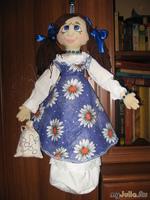 Моя первая куколка пакетница
