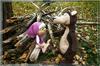 Маша и медведь мягкие игрушки ручной работы.