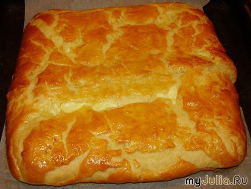 Тесто для сырного пирога