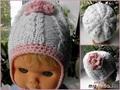 работа ptatp ''Детская шапочка с рельефным узором''
