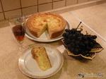 Сметанный пирог с сыром