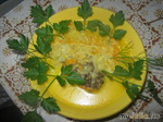 Сюрприз в сырном соусе