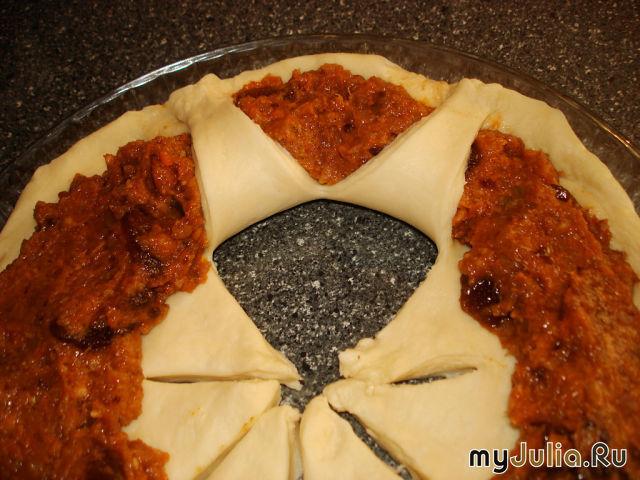 Пирог с повидлом открытый рецепт