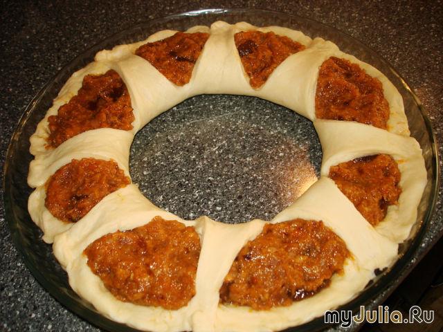 Рецепт пирогов с повидлом в духовке