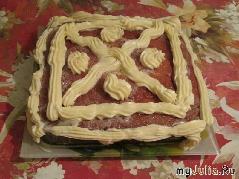 Интересные кремовые торты фото 5