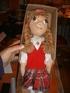 Кукла Сандра в нац.латышском костюме
