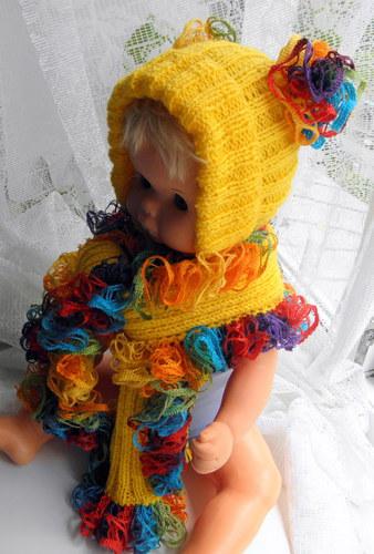 Комплект для девочки Солнечная радуга