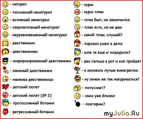 фотографии смайликов:
