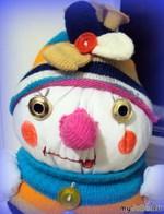Мой снеговик на скорую руку - Снежка. Малыш.