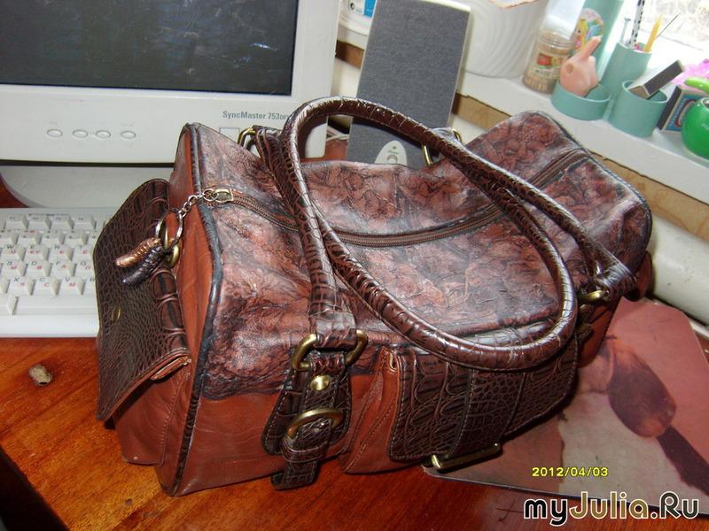 Ремонт сумок своими руками видео