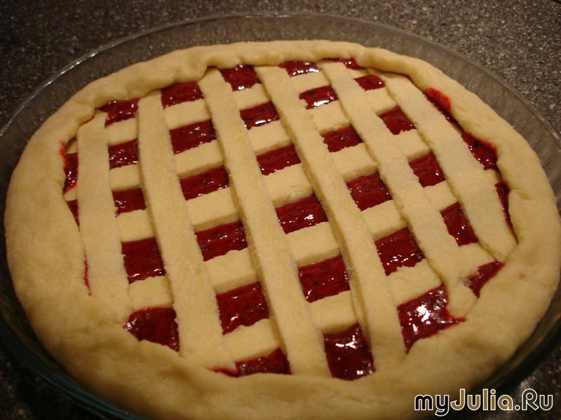 Творожное тесто на пирог