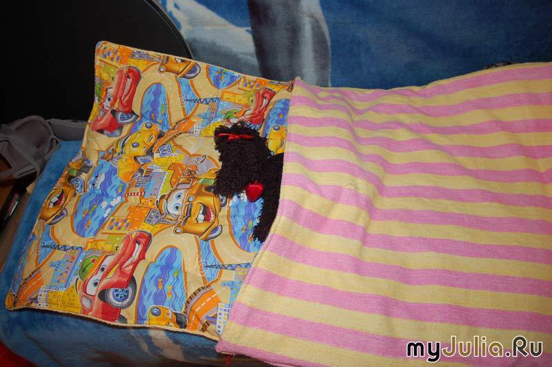 Спальный мешок для детей своими руками