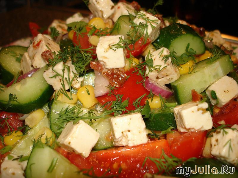 Рецепты салатов из варёных овощей с