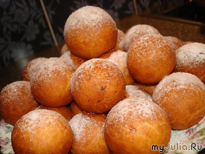 Шарики пончики рецепт классический пошаговый рецепт с фото