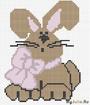 Зайчишка с бантом