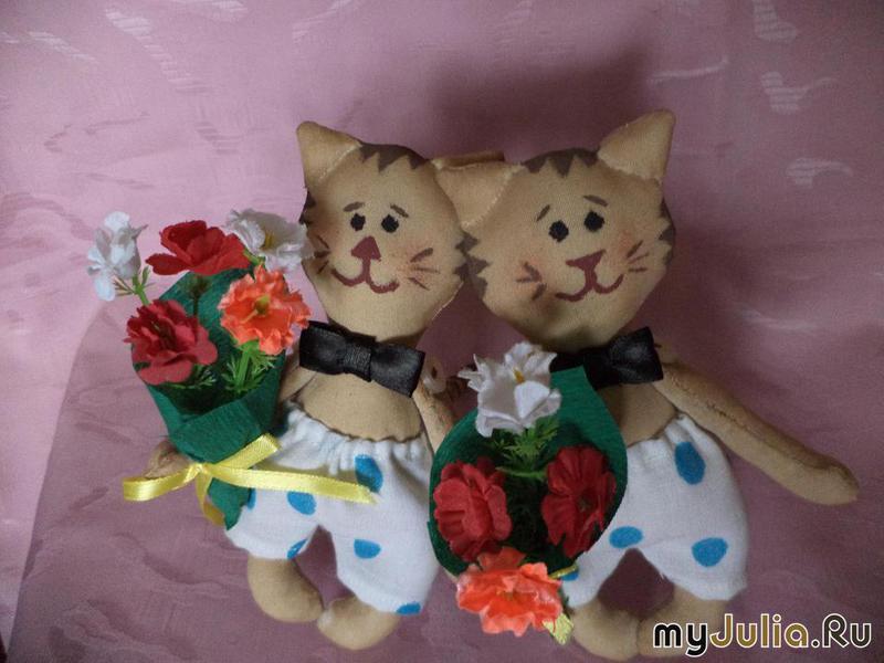 Куклы тильды коты приколы - 6