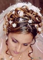 Украшения для волос - последний штрих для свадебной прически