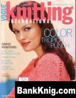 Прошу о помощи (журнал Vogue Knitting)