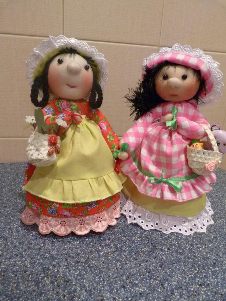 Куклы барыни своими руками