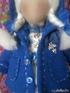 Кукла в синем пальто 1