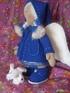 Кукла в синем пальто 2