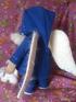 Кукла в синем пальто 3