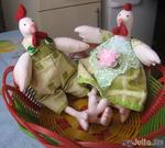 Куриная парочка к Пасхе