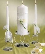 Свадебная свеча, как очаг семейного уюта и тепла