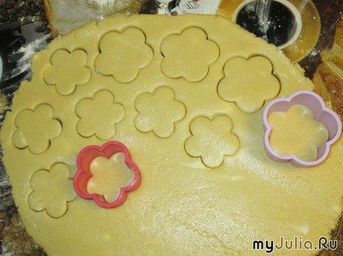 Как сделать тесто на печенье в формочках 890
