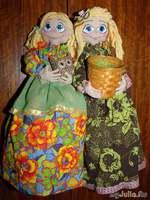 Пакетницы и кукла-органайзер