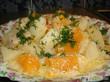 Жаркое из курицы с тыквой и картофелем