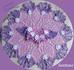 Платье «Дюймовочка»   с цветами по подолу - 1